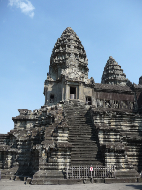 The Bakan or Central Tower of the temple at Angkor Wat
