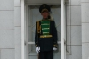 Guarding the Mausoleum of President Turkmenbashi (died 2006) & his family