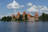Trakai Island Castle on Galve Lake, LT