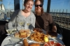 Ev & Steph enjoy tapas lunch at Badalona