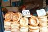 Bread for sale, Osh Market, Bishkek