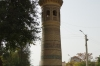 Minaret of the Bolo-Hauz Mosque