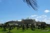 Cancun skyline, along the Zona Hotelera