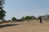 Villages on the Caprivi Strip between the rivers Kavangp and Kwando, Namibia