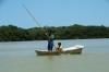 Crab fisherman on Ria Celestun