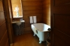Single bathroom. Frank Lloyd Wright's Home & Studio, Oak Park, Chicago