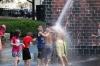 Crown Fountain by Juame Plensa in Millennium Park, Chicago