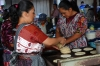 Making tortillas. Market day in Chichicastenango