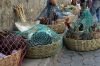 Fowl for sale. Market day in Chichicastenango