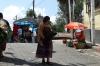 Fowl for sale. Market day in Chichicastenango