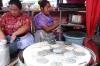 Making tortillas. Market day in Chichicastenango