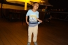 Young Chinese boy rap dancing on the Century Legend cruising the Yangzi, China