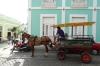 Horse drawn taxi in Cienfuegos