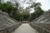 The Ball Court in the Coba Group. Ancient Ruins of Coba