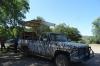 Our ecotour truck. El Fuerte