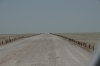 The road out to the Etosha Pan lookout, Namibia