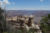The most popular lookout. Mather Point, Grand Canyon, AZ