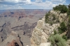 Walk from Pima Point to Hermit's Rest, Grand Canyon, AZ