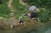 Fishing near Fubo Hill, Guilin, China