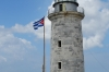 Lighthouse on Faro Castillo del Morro, built 1844