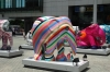 Painted Elephants at Tung Chung