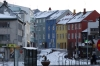 Colourful housees in Reykjavik
