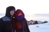 Hayden & Andrea at Thingvallavatn (lake) at sunrise