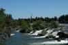 The falls at Idaho Falls