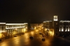 Telavi at night, from the bar of the Old Telavi Hotel