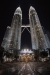 Petronas TwinTowers at night, KL, Malaysia