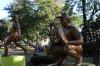 Lots of baseball icons. Central Park in La Romana