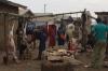 Butcher. Market Day in Mbuyuni, Tanzania