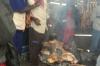 BBQ. Market Day in Mbuyuni, Tanzania