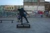 Skateboarding in Leon