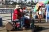 Music on Santa Monica pier