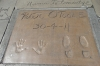 Hand and feet imprints at the Chinese Theatre, Hollywood Boulevard