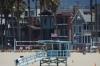 Life Saving kiosk on Venice Beach