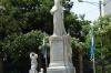 Monumnt to Nicaraguan poet Ruben Dario. Plaza de la Revolucion