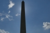The Washington Monument (Needle) from the National Mall,  Washington DC