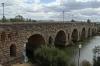 Roman Bridge, approx 800m long, Merida