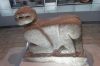 Maya carving of jaguar as a seat