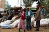 Scenes along the street, leaving Nairobi