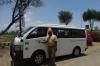 Our Kenyan guide Mwendwa. On the equator at Nanyuki, Kenya