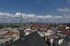 View of Olomouc CZ from the tower of St Maurice's Church
