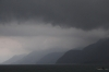 Storm brewing over Lago de Atitlan