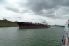 Cargo boat on th Panama Canal