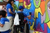 Street art awarness for Autism in Panama City
