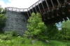 D&H Canal Aqueduct, built by John A Roebling, Deleware River NY/PA