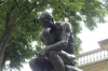 The thinker - Rodin statues at his museum in Philadelphia
