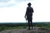 General Warren Statue, Little Round Top (left flank), Gettysburg PA